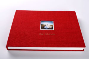 textured-linen-album-red-5